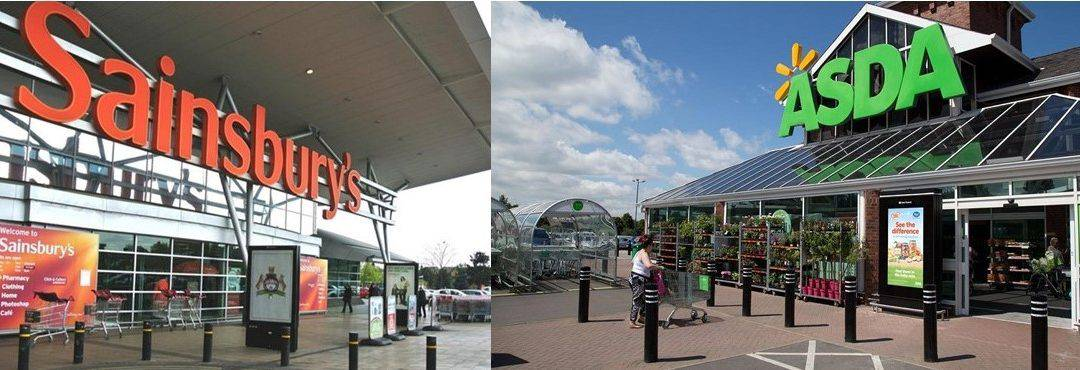 Possible Sainsbury's & Asda merger