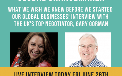 Confessions of a Global Changemaker : Sammy Blindell Interview
